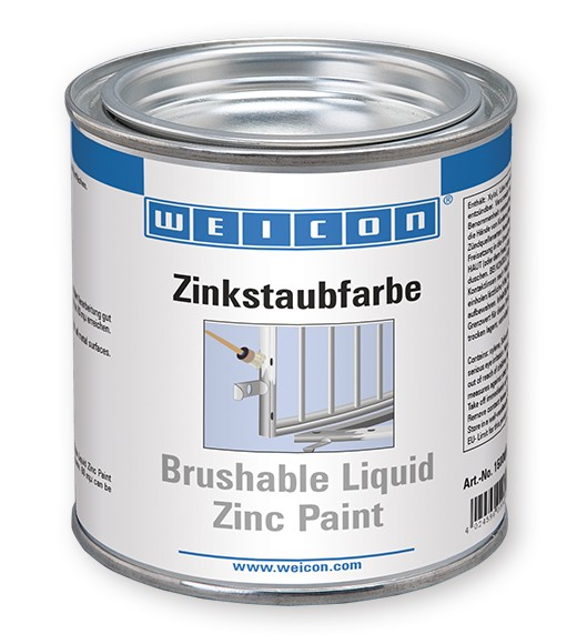 WEICON Zinkstaubfarbe 375 ml, 15000375