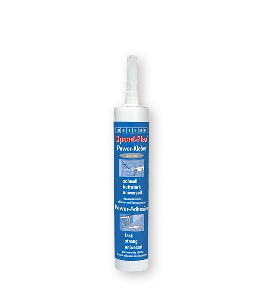 WEICON Speed-Flex grau 310 ml, 13602310