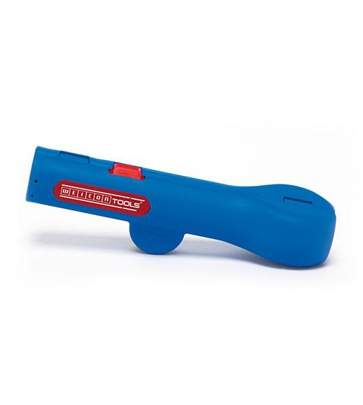 WEICON Rundkabel-Stripper No,13, blau/rot, Blister, 52000013