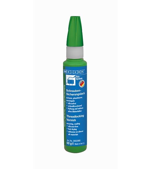WEICON Schrauben-Sicherungslack 60 g, grün, 30022060