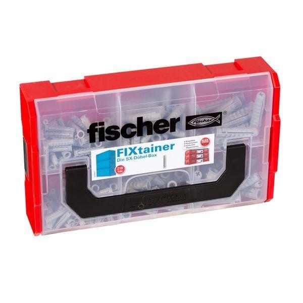Fischer FIXtainer - SX-Dübel-Box (210), 532892