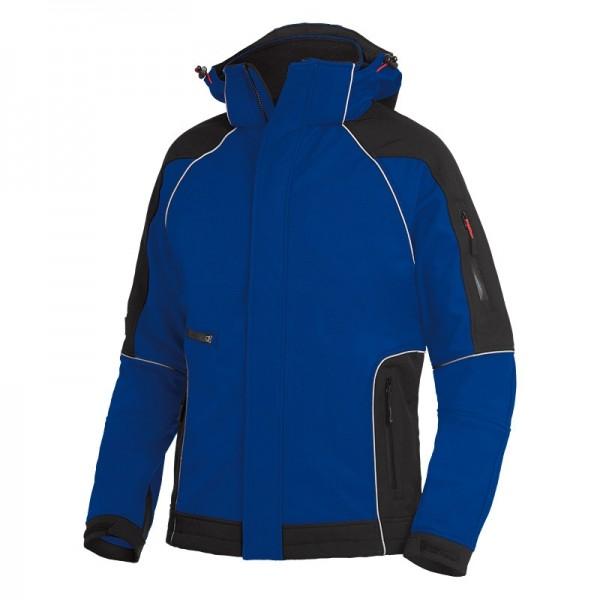 FHB Softshell-Jacke WALTER 78518 3620-royalblau-schwarz
