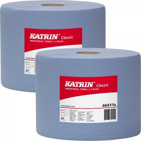 KATRIN Classic L2 Putztuchrolle, 464118 (2-er Pack)