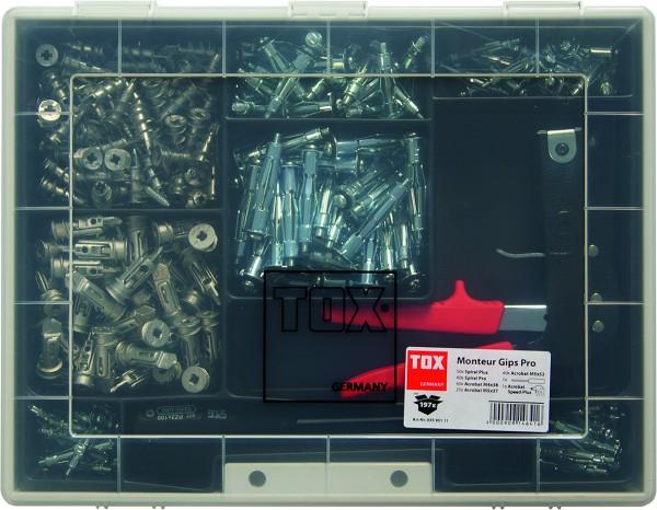 TOX Gips Pro Monteur Sortiment 197-teilig, 03590111