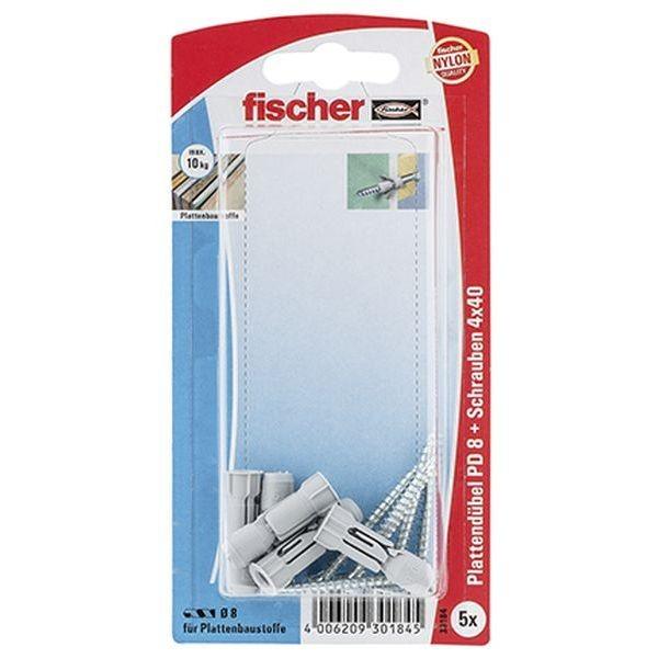 Fischer Plattendübel PD 8 S K (5), 030184