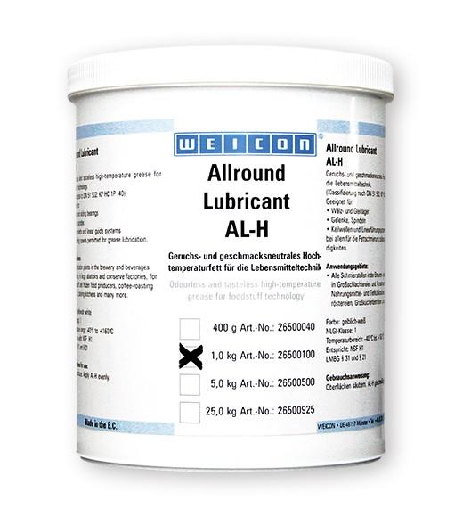 WEICON Allround-Lubricant 1 kg AL-H 1000, Lebensmittelfett, 26500100