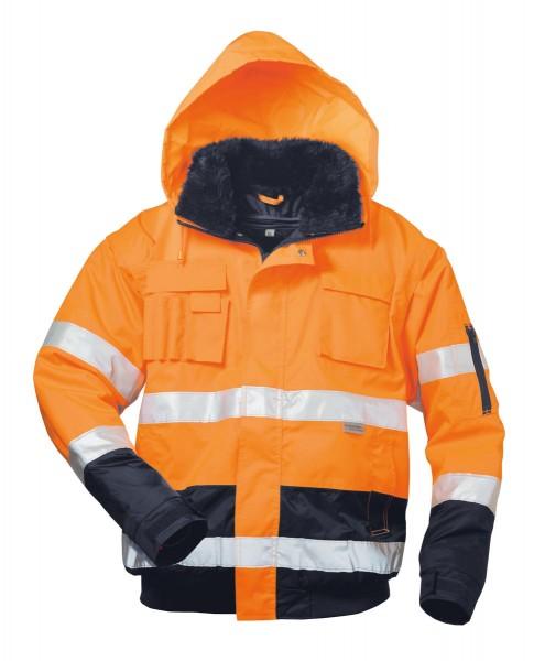 Elysee® Volker Warnschutzpilotjacke orange/marine, 23559