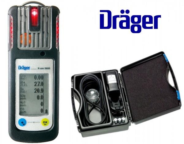 Dräger Mehrgasmessgerät X-am® 5600 Set mit CSE-Koffer