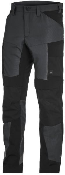 FHB LEO Artbeitshose elastisch, anthrazit-schwarz, 122110-1220