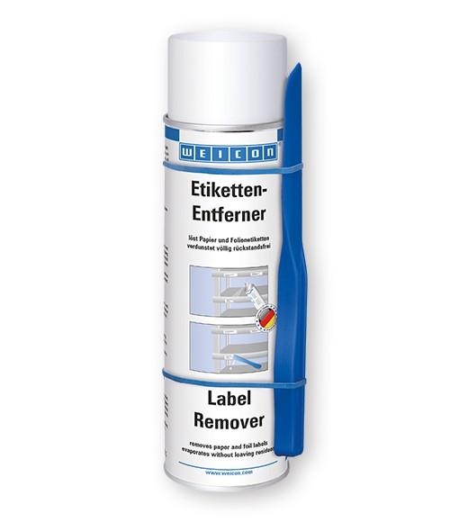 WEICON Etiketten-Entferner 500 ml, mit Spezial-Spatel, 11206500