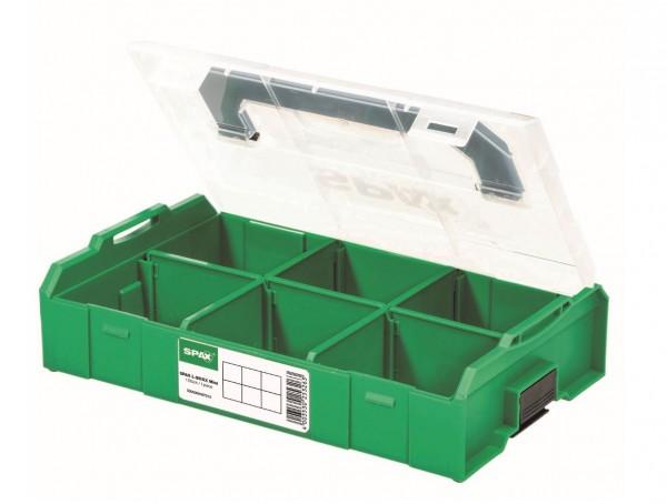 SPAX® Montagekasten L-BOXX Mini, Kunststoff, klein, 5000009167019