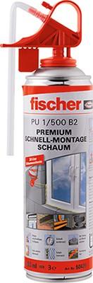 Fischer Premium Schnellmontageschaum PU 500, 050426
