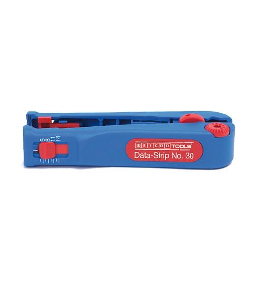 WEICON Data-Strip No,30 blau/rot, Blister, 52000030
