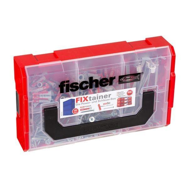 Fischer FIXtainer - DUOPOWER/DUOTEC+Schrauben 200-teilig, 539868