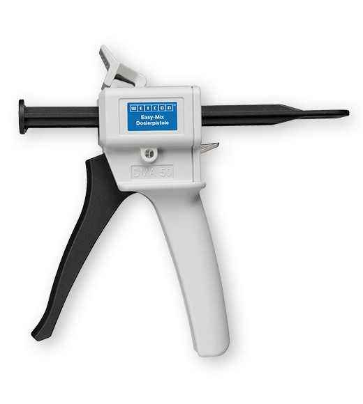 WEICON Dosierpistole für Easy-Mix PE-PP 45 mit Spezialschieber 10:1, 10663038
