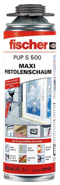 Fischer Maxi Pistolenschaum PUP S 500, 539163