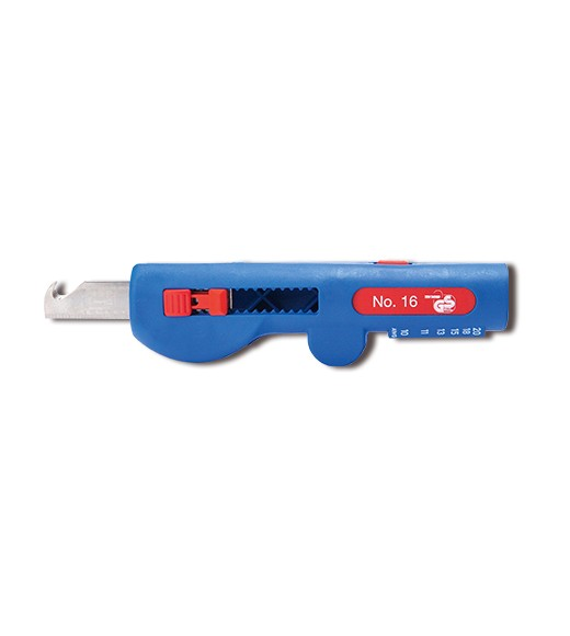WEICON Quadro-Entmanteler No,16, blau/rot, Blister, 52000016