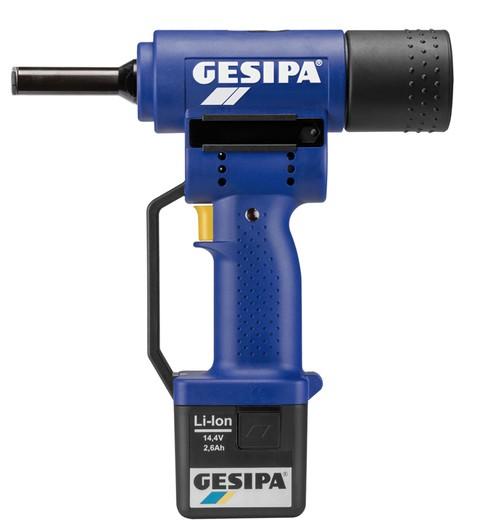 Gesipa Schliessringbolzen-Setzgerät PowerBird für 6,4 mm C6L®, 1450606