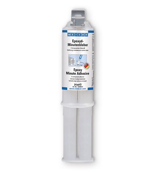WEICON Epoxyd-Minutenkleber 24 ml, Zwillingsspritze, 10550024