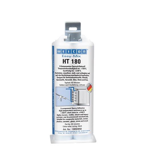 WEICON Epoxyd-Klebstoff Easy-Mix HT 180 50 ml, 10650850