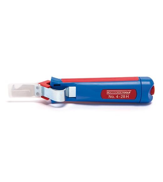 WEICON Kabelmesser 4-28H blau/rot, Blister, 50054328