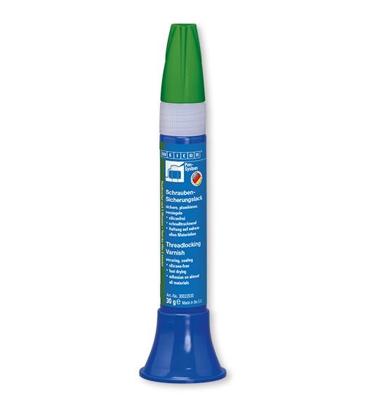 WEICON Schrauben-Sicherungs- lack 30 g, grün, 30022030