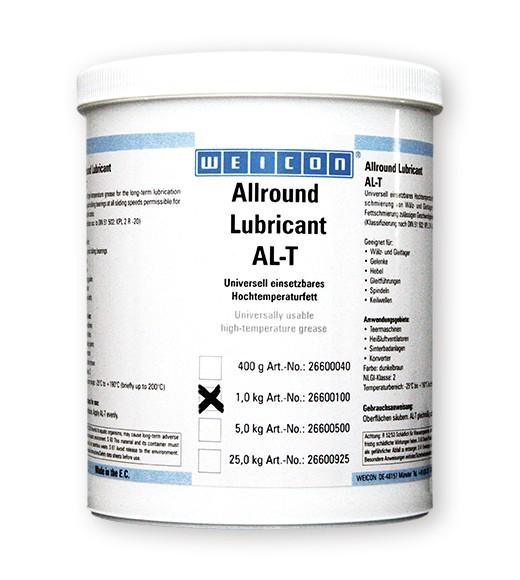 WEICON Allround-Lubricant 1 kg AL-T 1000, Hochtemperaturfett, 26600100