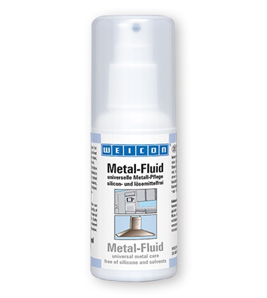 WEICON Metal-Fluid 100 ml Universal Metallpflege, Feinzerstäuber, 15580100