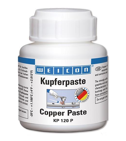 WEICON Kupferpaste KP 120 P 120 g, Pinseldose, 26200012