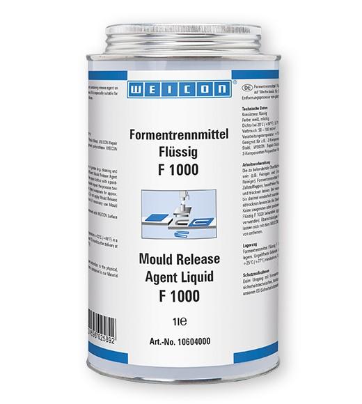 WEICON Formentrennmittel 1 l -flüssig- F 1000, 10604000