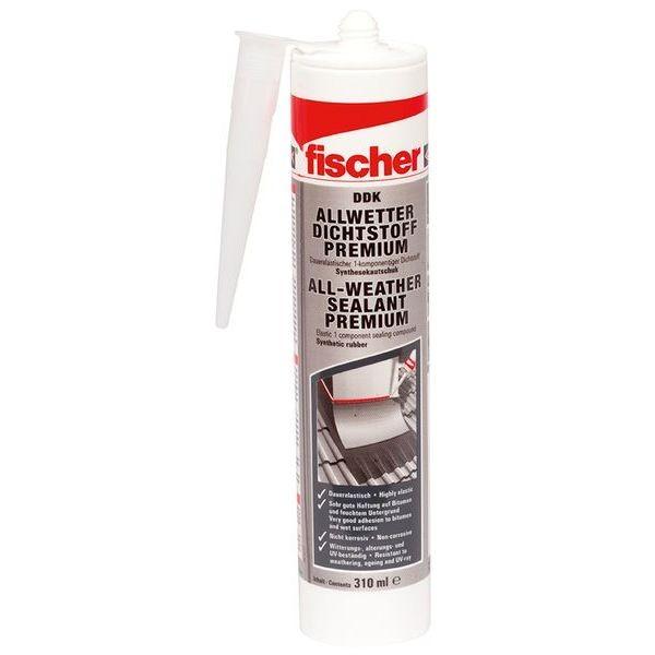 Fischer Allwetter Dichtstoff DDK 310 transparent, 049103