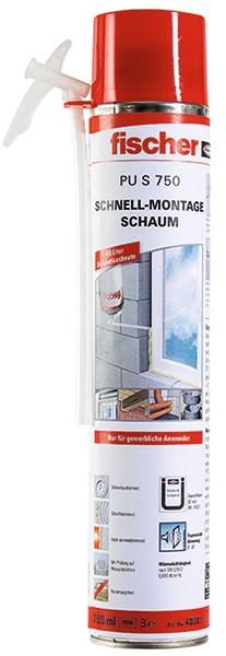 Fischer Schnellmontageschaum PU S 750, 040301