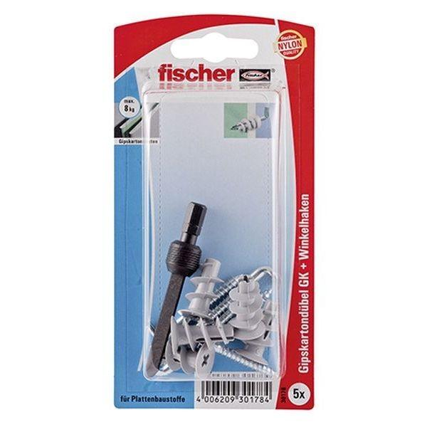 Fischer Gipskartondübel GK WH K (5), 030178