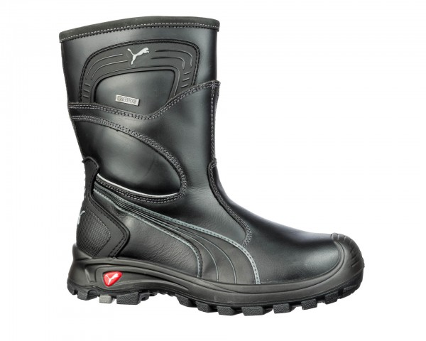 Puma Sicherheitstiefel Rigger Boot Black S3 WR CI HRO SRC, 630440