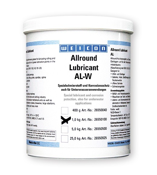 WEICON Allround-Lubricant 1 kg AL-W 1000 Spezialschmierstoff, 26450100