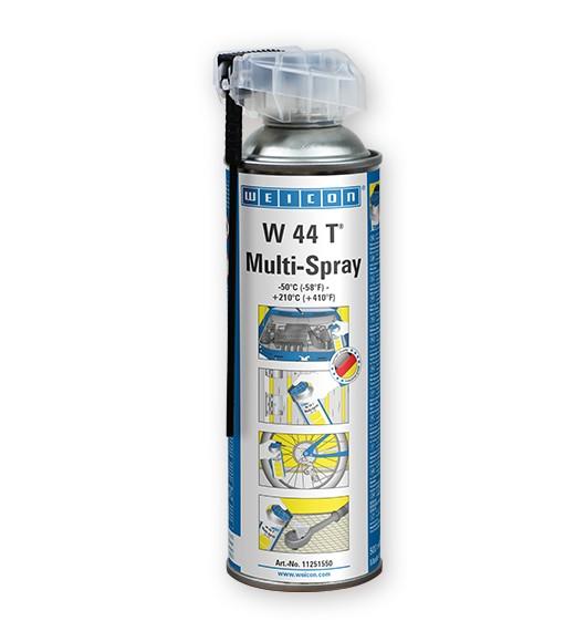 WEICON W44T Multi-Spray 500 ml mit Multifunktionssprühkopf, 11251550