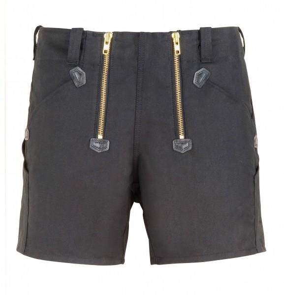 FHB JO Zunft-Shorts Rips-Moleskin, schwarz, 10032-20