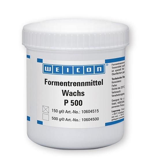 WEICON Formentrennmittel-Wachs P-500, 150 g, 10604515