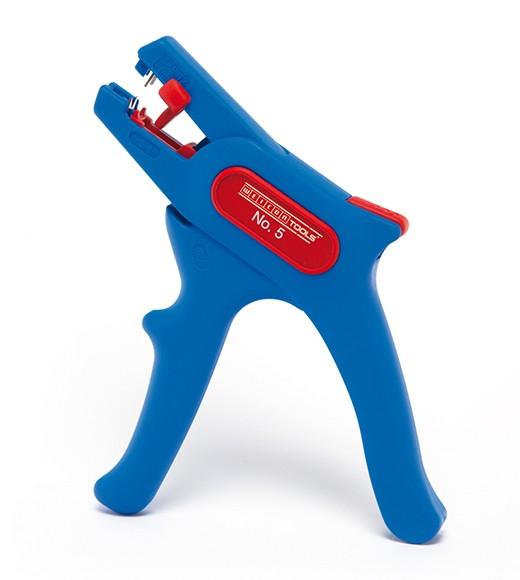 WEICON Abisolierzange No,5 blau/rot, Blister, 51000005
