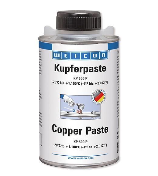 WEICON Kupferpaste KP 500 P 500 g, Pinseldose, 26200050