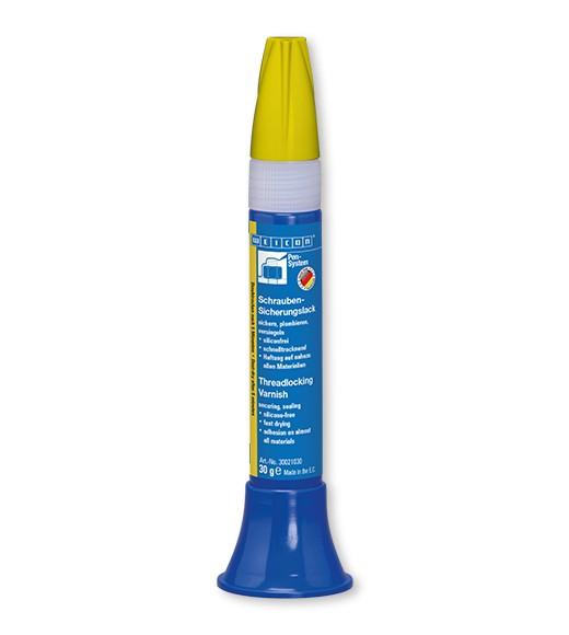 WEICON Schrauben-Sicherungs- lack, 30 g, gelb, 30021030