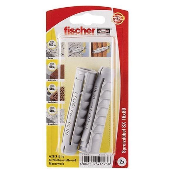 Fischer Dübel SX 16x80 K (2), 041693