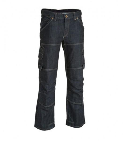 FHB Stretch-Jeans Arbeitshose WILHELM 22659 22-schwarzblau