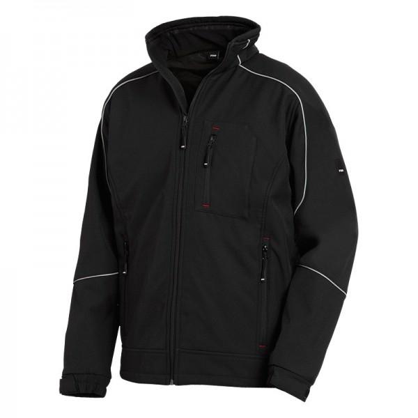 FHB Softshell-Jacke DIRK 78519 20-schwarz