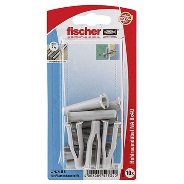 Fischer Hohlraumdübel NA 8x40 K (10), 052534