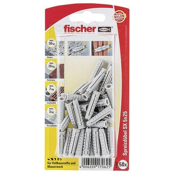 Fischer Dübel SX 5x25 K (50), 017062