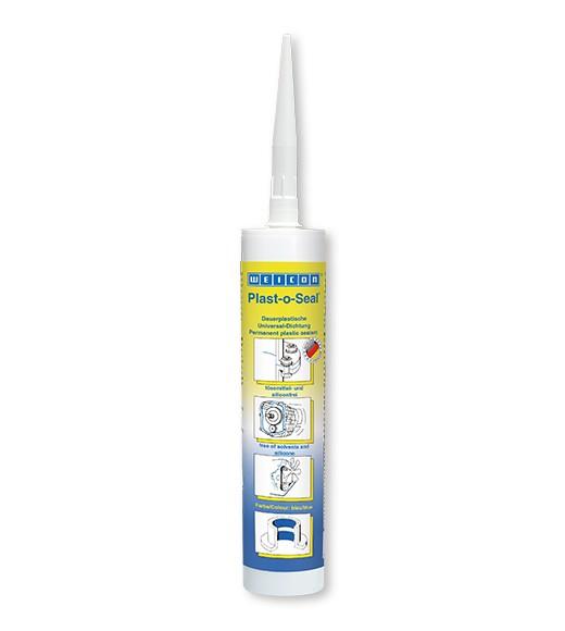 WEICON Plast-o-Seal 300 g Kartusche, 30000300