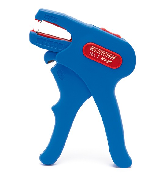 WEICON Abisolierzange No,7-R blau/rot, Blister, 51000007