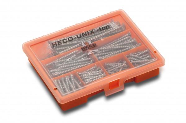 HECO-UNIX-top Schraubensortiment, T-Drive, A2K, 45495