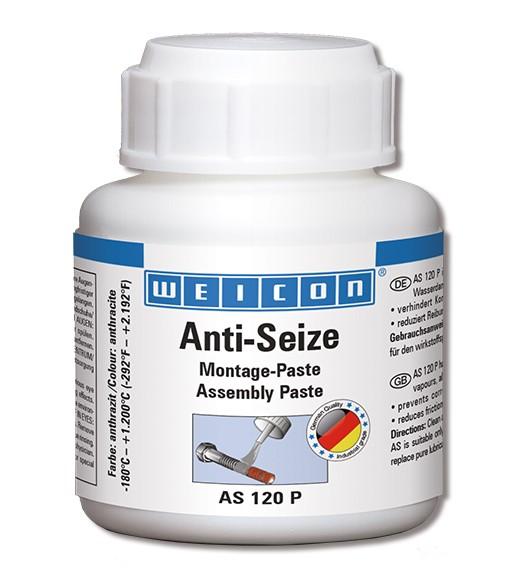 WEICON Anti-Seize AS 120 P 120 g, Pinseldose, 26000012